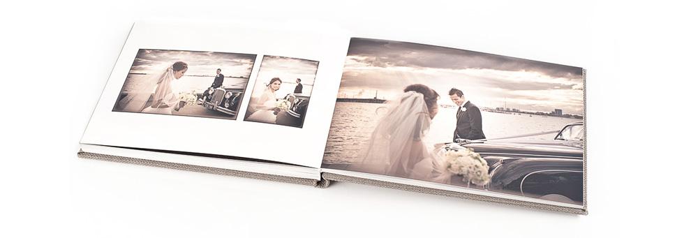 Vivaldi D Arte Series Fine Handcrafted Art Paper Wedding Albums
